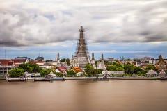 Krieg Arun in Bangkok lizenzfreie stockbilder