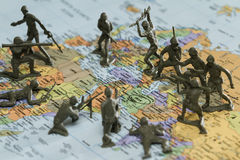 Krieg auf dem Iran Stockfotografie