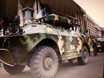 Krieg im ucraina Lizenzfreies Stockfoto