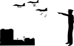Krieg ist eingeschaltet Stockbilder