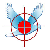 Krieg und Frieden Stockbild