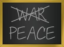Krieg und Frieden Lizenzfreie Stockfotos