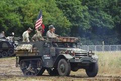 Krieg-und Friedenserscheinen 2011 Stockbilder