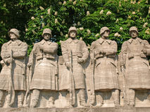 Kriegdenkmal Stockfotos