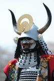 Krieger-Parade in der Kanra Stadt Stockfoto
