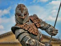 Krieger-Rüstung, Verona, Italien, 2004 Lizenzfreie Stockfotografie
