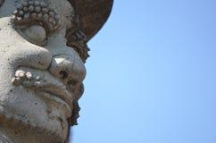 Kriegersskulptur Stockbilder