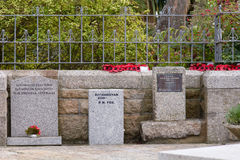 Kriegs-Denkmäler Stockbild