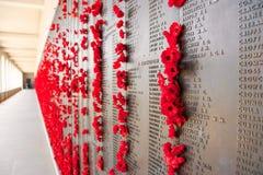 Kriegs-Denkmal, Canberra Stockbild