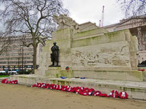 Kriegs-Denkmal, London Stockfotos