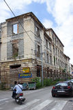 Kriegs-Gedächtnis in Mostar Stockbild