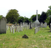 Kriegs-Gräber Stockbild