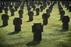 Kriegs-Gräber Stockfotografie