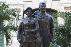 Kriegs-Monument Stockfoto
