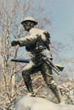 Kriegs-Monument Stockbilder