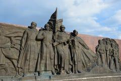 Kriegsdenkmal in Astana lizenzfreies stockfoto