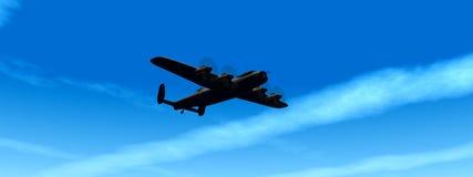 Kriegsflugzeug 2 Stockfotos