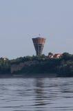 Kriegsschäden bei der Donau Lizenzfreies Stockfoto