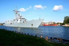 Kriegsschiff Lizenzfreie Stockbilder