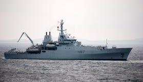 Kriegsschiff lizenzfreies stockbild