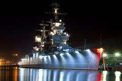 Kriegsschiff Lizenzfreie Stockfotos