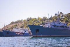 kriegsschiffe Stockbild