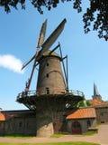 Kriemhildsmuehle i Xanten, lägre Rhen, Tyskland Arkivfoto