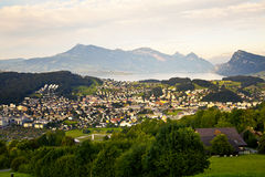 Kriens Village in Lucerne Royalty Free Stock Photos