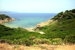 Krifi Ammos  beach, Skiathos, Greece. Stock Photography