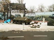 Krig i Ukraina Royaltyfri Fotografi