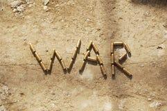 kriga Arkivbild