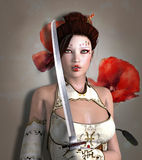 krigare Royaltyfria Foton