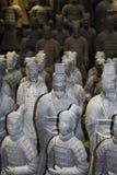 Krigare av terrakottaarmén i Xian, Kina fotografering för bildbyråer
