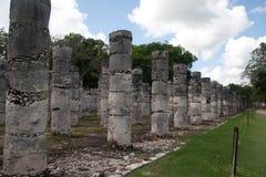 krigare för tempel tusen arkivbild