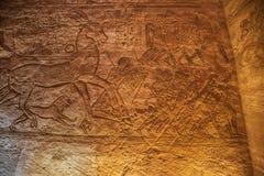Krigare på striden av Kadesh arkivfoto