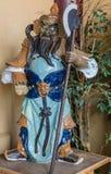 Krigareförmyndarestaty på hans Lai Buddhist Temple, Kalifornien Royaltyfri Foto