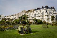 Krigarefyrkant, St-Leonards-på-hav, Hastings, East Sussex, England, UK arkivfoto