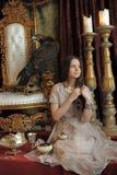 Krigareprinsessa Arkivbild