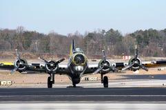 kriger bombplanen 2 b17 världen Royaltyfri Foto