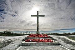 kriger den lochnagar minnesmärken för krater Royaltyfria Foton