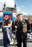 kriger den uniform veteran för marin ii världen Arkivfoto