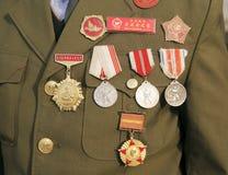 kriger koreanska veteran för porslin Royaltyfria Bilder