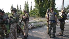 Kriget i Ukraina arkivfilmer