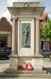 Krigminnesmärke, Abingdon Royaltyfri Fotografi