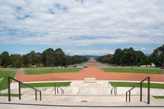 Krigminnesmärke, Canberra Arkivbild