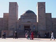 Krigminnesmärke Canberra Australien royaltyfri bild