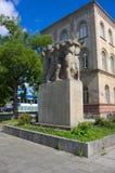 Krigminnesmärke-Goettingen-Tyskland Arkivbilder