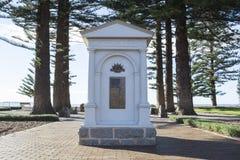 Krigminnesmärke, Victor Harbor, södra Australien Royaltyfri Foto