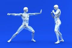 krigs- anatomikonster vektor illustrationer
