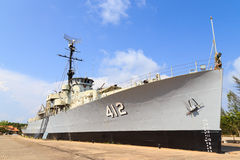 Krigskepp Arkivfoto